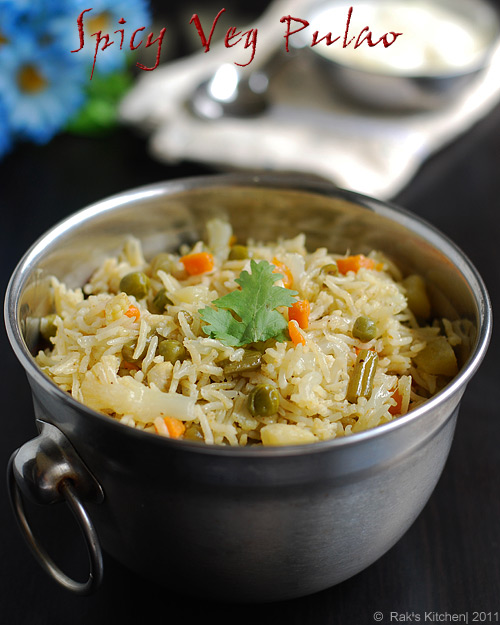 Spicy-vegetable-pulao