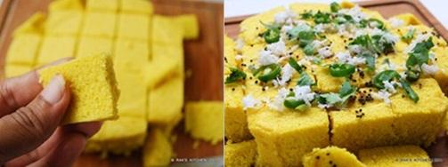 dhokla recipe step 4