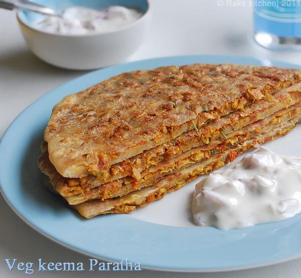veg-keema-paratha