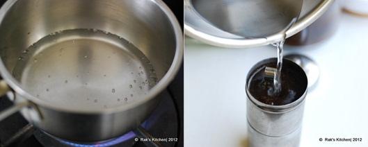 How to make degree coffee step 3