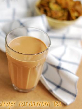 ginger cardamom tea recipe