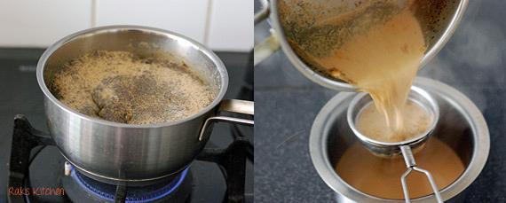 how to make ginger cardamom tea step 2