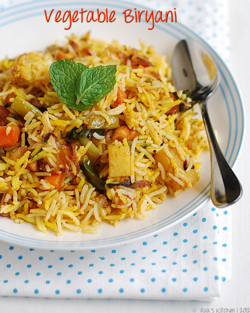 vegetable-biryani