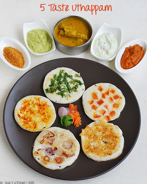 5-taste-uthappam - recipe