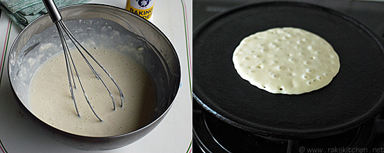 eggless pancake recipe step 2