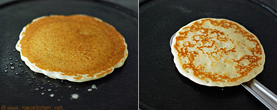 eggless pancake recipe step 3