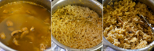 Mushroom Biryani Recipe - Step5