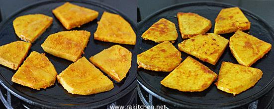 yam tawa fry preparation 4