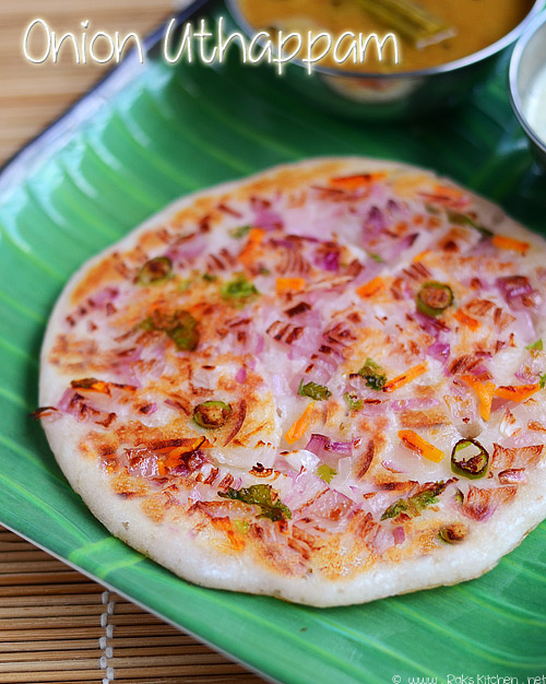 onion uttapam south indian