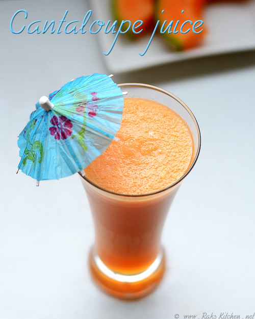 Cantaloupe-juice