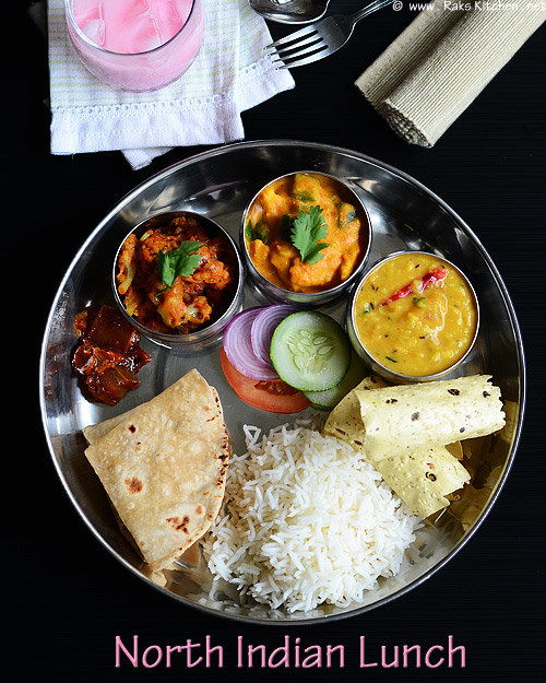 north-indian-lunch-menu