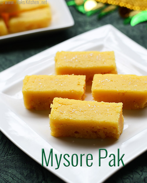 1-traditional-mysore-pak recipe
