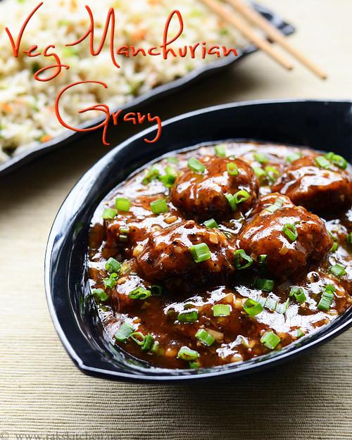 veg-manchurian-gravy