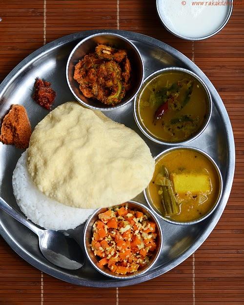 South Indian Lunch Recipes Lunch Menu 34 Raks Kitchen