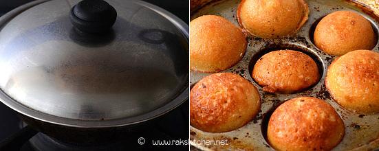 Thinai sweet paniyaram step 4