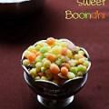 Sweet boondhi