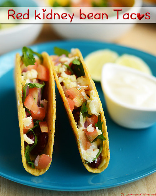 red-kidney-bean-tacos