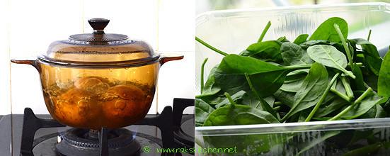 Hara bhara kabab recipe step 1