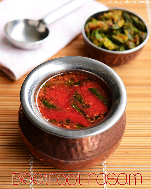 beetroot rasam recipe