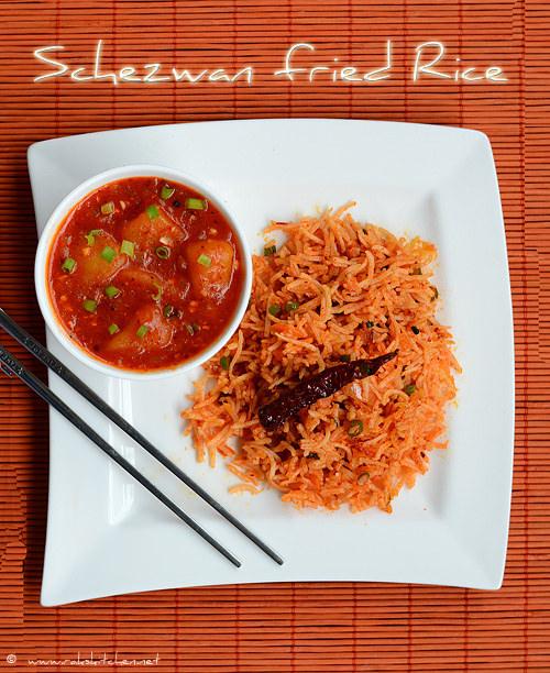 1 schezwan fried rice