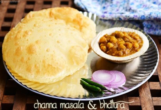 channa bhatura - Sunday breakfast