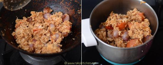 Vendakkai Puli kulambu recipe 3