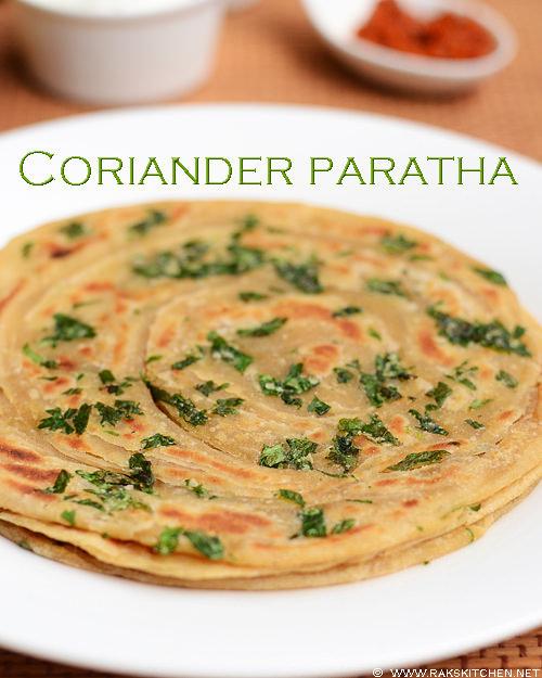 coriander-paratha-recipe