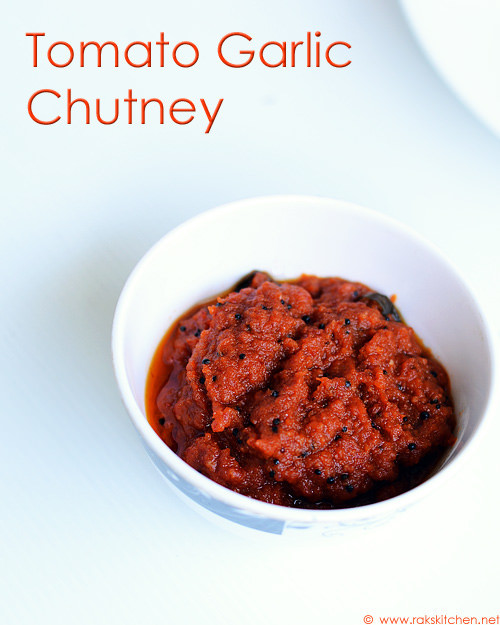 tomato-garlic-chutney