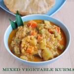 mixed veg kurma