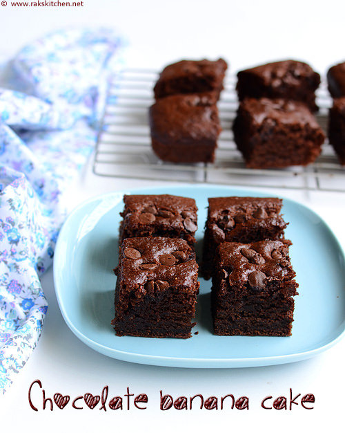 eggless-chocolate-banana-cake