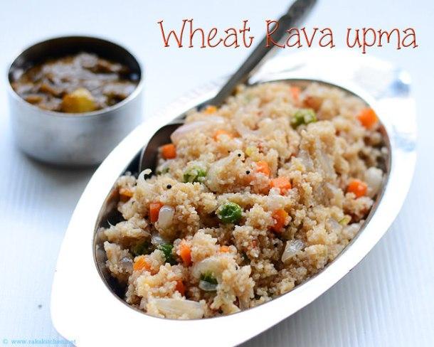 wheat-rava-upma