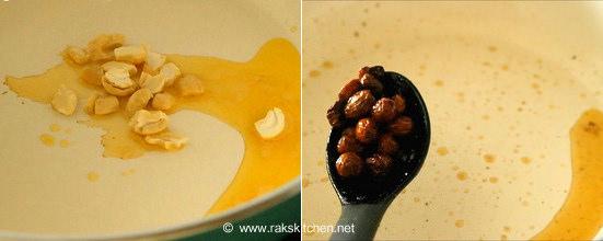 how to make rava payasam step 1