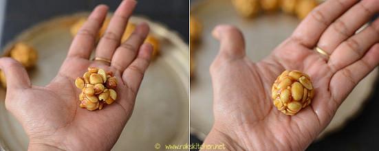 kadalai urundai recipe step 6
