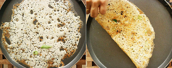 Rava dosa recipe step 6
