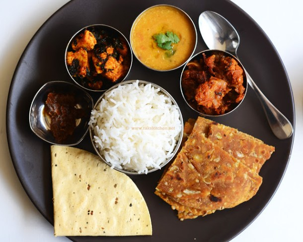 Indian lunch recipes