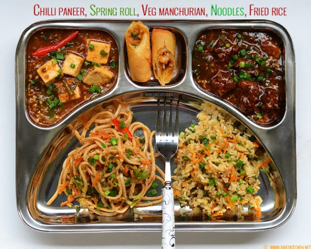 Indo chinese lunch recipes