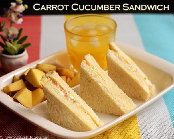 Carrot-cucumber-sandwich