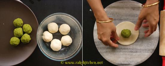 Peas-kachori-step5