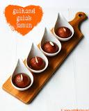 Gulkand gulab jamun recipe