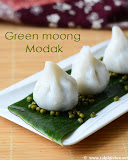 green-moong-modak