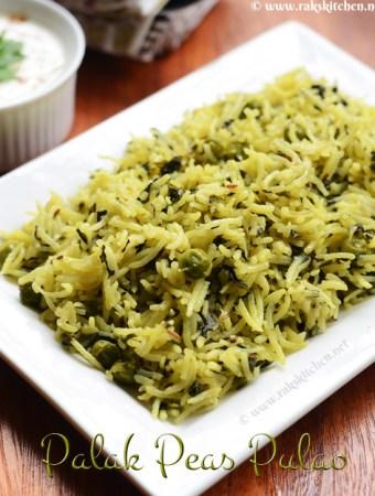Palak-peas-pulao-recipe