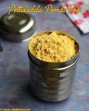 Paruppu podi with pottukadalai