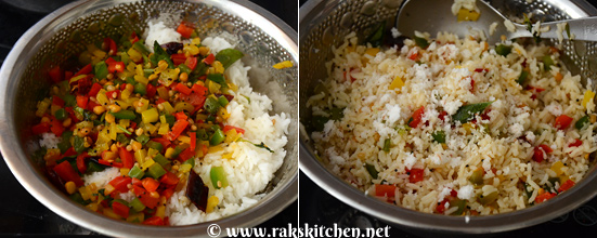 how to make capsicum rice 3