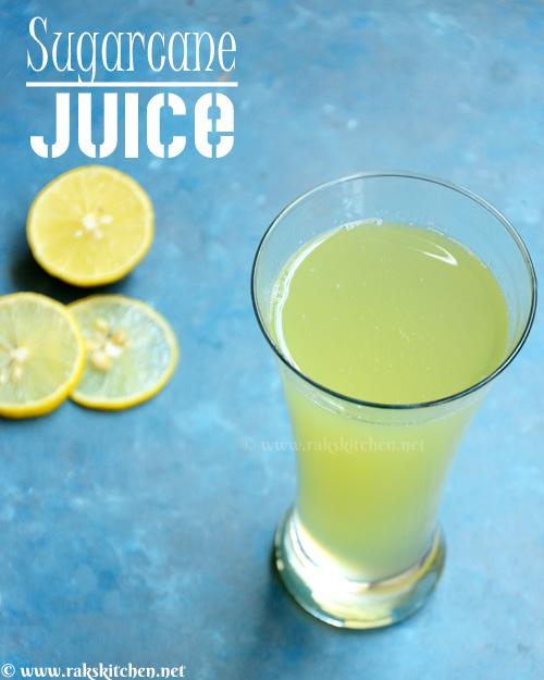 sugarcane juice recipe