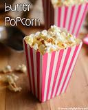 butter popcorn recipe
