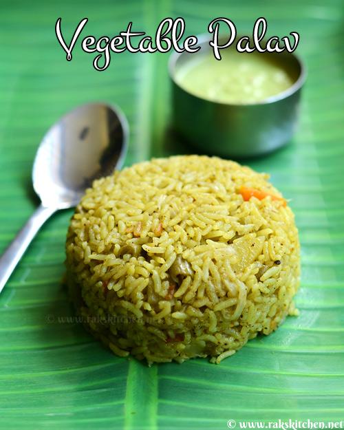 vegetable palav recipe