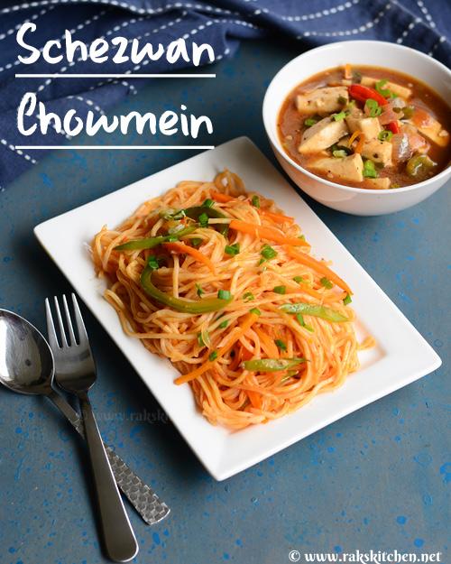 Schezwan chowmein