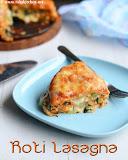 Roti vegetable lasagna recipe