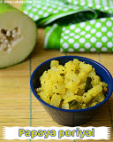 Pappalikai poriyal recipe