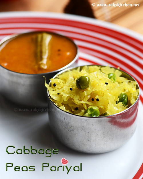 cabbage-poriyal-recipe